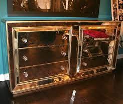 smoked mirrored furniture. Image Of: Gold Mirrored Dresser Ideas Smoked Furniture E