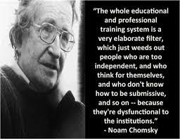 Noam Chomsky on Pinterest | Illuminati Quotes, Breaking Up and ... via Relatably.com