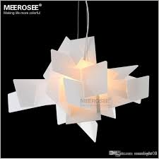 modern irregular foscarini big bang pendant lighting fixture art suspension lamp drop white red color lamp for dining room pendant light fittings pendant