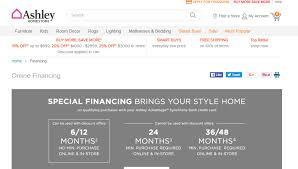 Ashley Furniture Credit Card Login