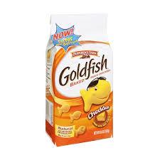 goldfish crackers bag. Plain Goldfish On Goldfish Crackers Bag