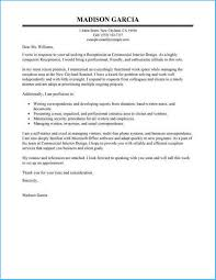Reception Cover Letters Cool Receptionist Cover Letter Examples Which You Need To
