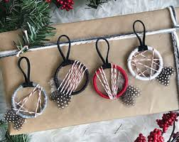 Dream Catcher Christmas Ornament Dreamcatcher Christmas Ornaments Holiday Party Favors 82