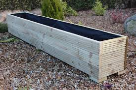 make your garden luxuries and beautiful with wooden planter boxes carehomedecor