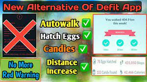 How to Autowalk in Pokemon Go Without Defit App | New Alternative of Defit  App