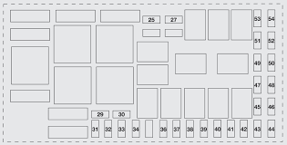 fiat punto evo (2010 2012) fuse box diagram auto genius fiat punto grande fuse box layout at Fiat Punto Fuse Box