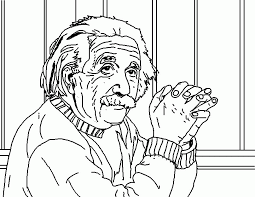 Small Picture Albert Einstein Coloring Pages Coloring Home