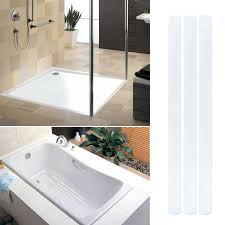 bathtub safety strips safety non slip anti skid strips stickers applique tape for bath shower remove bathtub safety strips