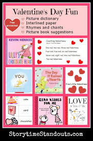 Valentine's Day Printables for Preschool, Homeschool and Kindergarten