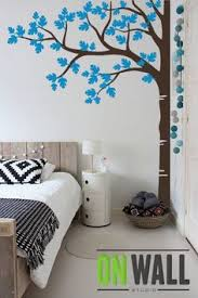 wall painting ideas for home. Large Tree Wall Decal - Nursery Decoration Sticker Corner Painting Ideas For Home