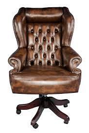 leather office. httpsflickrpcub8iw chairmans style brown leather office o