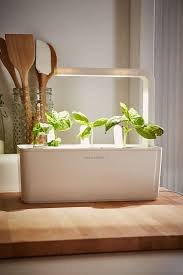 Herb Garden For Kitchen Click And Grow A Miniature Herb Garden For A Kitchen Countertop