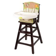 com summer infant classic comfort wood high chair swingin safari toys baby