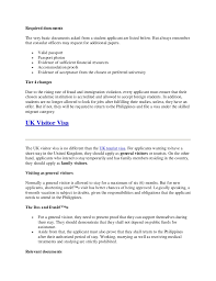 A Cover Letter For Student Visa Copy Sample Cove A Cover Letter For