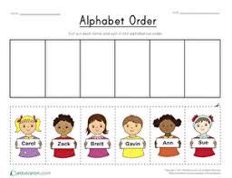 Compare ipa phonetic alphabet with merriam webster pronunciation symbols. Alphabet Order Worksheet Education Com