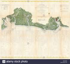 Map Of Charleston Harbor Stock Photos Map Of Charleston