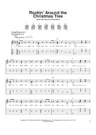 Rockinu0027 Around The Christmas Tree Chords By Johnny Marks Melody Rock In Around The Christmas Tree