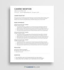 Modern Word Resume Template Template Free Resume Templates Word Hairstyles Resume