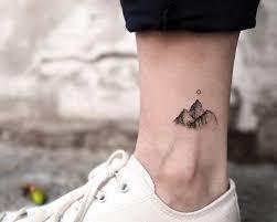 Kotníku Tetování Malý Jemný A Ideální Na Léto Anews24info