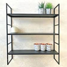 metal wall shelving medium size of black metal wall shelving brackets shelf unit mounted cube bookshelves