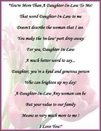 65 best daughters in law images on pinterest daughter in law Wedding Card Verses For Son And Daughter In Law daughter in law poems google search wedding card messages for son and daughter in law