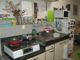Kitchens in Japan are not equip with an stove top and oven like you would  find in North America. Instead they generally consist of a two burner gas  stove ...