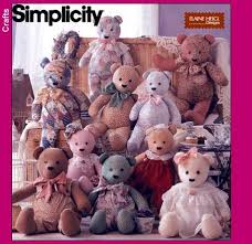 Simplicity Teddy Bear Pattern