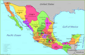 map of mexico and central america mommygeek me stuning meico