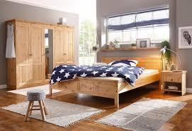 Schlafzimmer Set 4 Teilig Mit 140 Er Bett Galaxy 323 Walnuss Betten