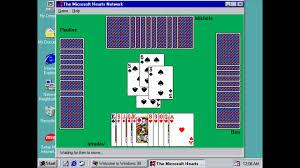 Windows 98 Longplay Microsoft Hearts Youtube