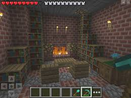Minecraft Aesthetics Improving Your Build With The Right Flooring Fireplace In Minecraft