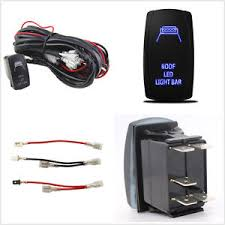 autos 40a roof led light bar wiring harness relay 5 pin rocker image is loading autos 40a roof led light bar wiring harness