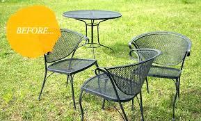 vintage iron patio furniture. Cast Iron Patio Furniture Set Vintage Metal New Mesh C