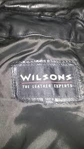 wilson s large leather jacket