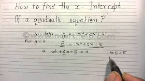 how to find the x intercept of a quadratic function by factoring with examples parabola
