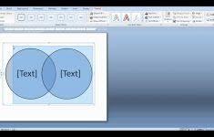 How To Create Venn Diagram In Word Circle Flow Chart In Word Venn Diagram Template For Flowchart