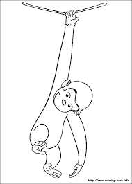 curious george coloring page healthy lunchbox colouring page from best curious curious george coloring pages