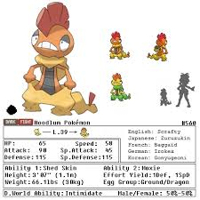 Scrafty Evolution Chart 47 True How Does Scraggy Evolve