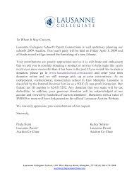 Raffle Donation Letter Letter Idea Sample Professional Reference List