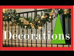 Garlands on the Staircase and Banister - Christmas <b>Decorating</b> and ...
