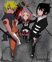 go er naruto/soul eater | Anime, Anime crossover, Naruto