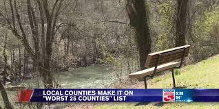 "Mingo and Martin Counties make ""25 worst counties"" list"