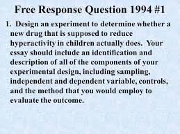 ap psychology exam response questions ppt  6
