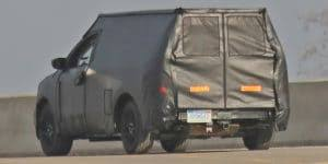 Spy Shots: Ford Looks to Revive Tiny Courier Pickup Truck