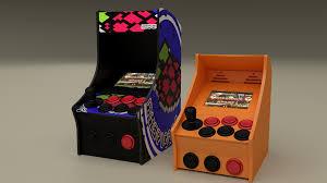 Raspberry Pi Game Cabinet Raspberry Pi 3d Printed Nano Arcade Cabinet Combines Nostalgia