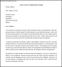 Letter Of Intent Graduate School Samples Rome Fontanacountryinn Com