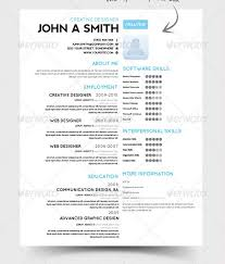 Page Resume Example Good Web Developer One Page Resume Template