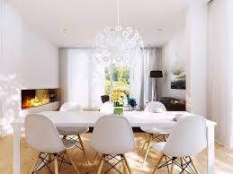 modern white dining table. chairs, white dining room chairs chair cheap but modern table looks