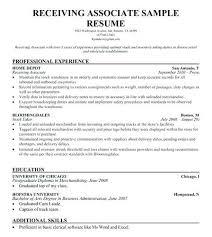 Warehouse Jobs Resume Enchanting Warehouse Shipping Clerk Resume Job Description Download And
