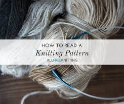 How To Read A Knitting Pattern New How To Read A Knitting Pattern AllFreeKnitting